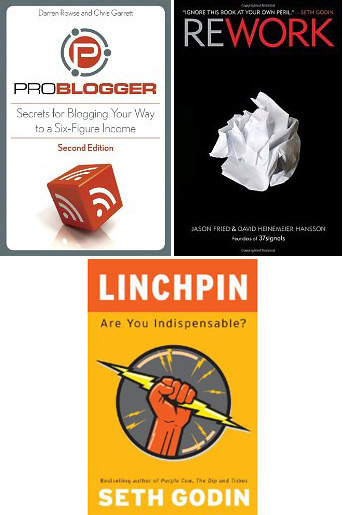 Linchpin, ProBlogger and Rework Books