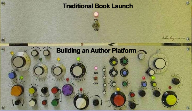 The difference between a traditional book launch and building an author platform
