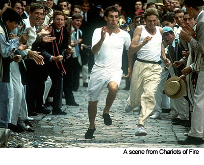 A scene from Chariots of Fire