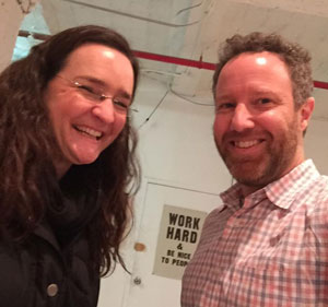 Tina Roth Eisenberg & Dan Blank