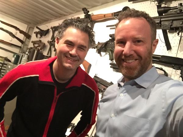 Jeremy Chernick and Dan Blank