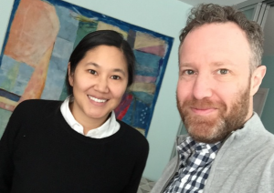 Stephanie Wang-Breal and Dan Blank