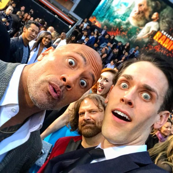 Jason Liles and The Rock
