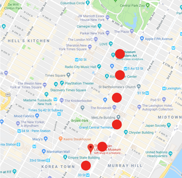 Creative Business Boost Map