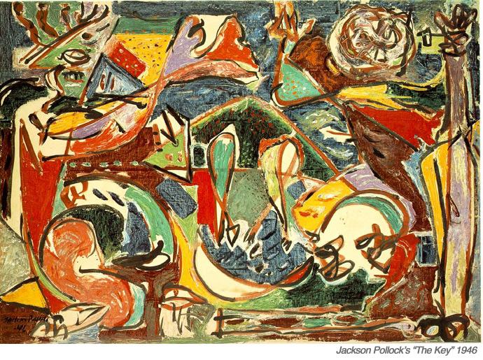 Jackson Pollock's The Key